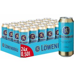 24 db Löwenbrau 0,5l DOB (4%)  TÁLCA AKCIÓ!