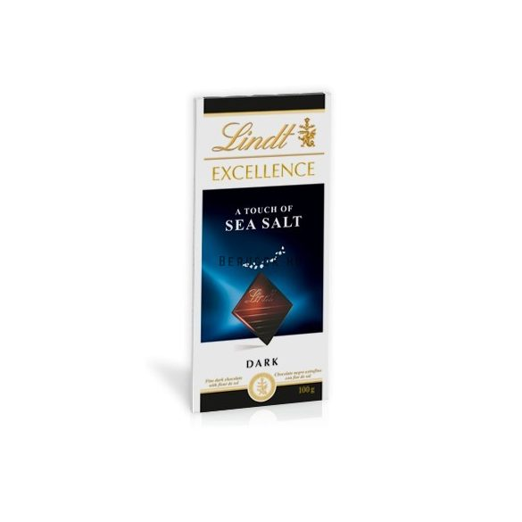 Lindt Excellence - A touch of sea salt 100g