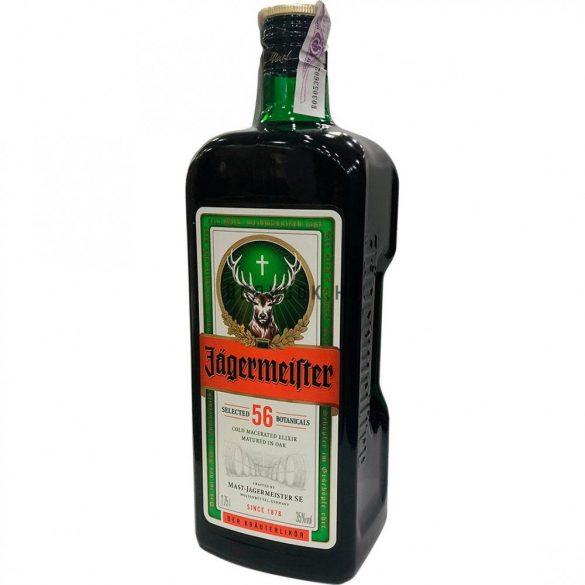 Jägermeister 1,75l (35%) + 2 pohár