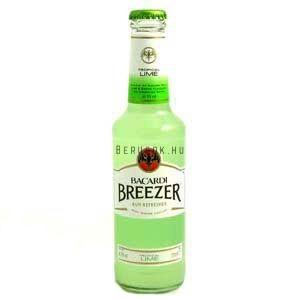 Bacardi Breezer Lime 0,275l (4%)