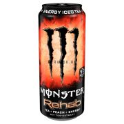 Monster Rehab Tea+Peach 0,5l DOB