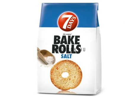 7 days Bake Rolls Natúr 80g