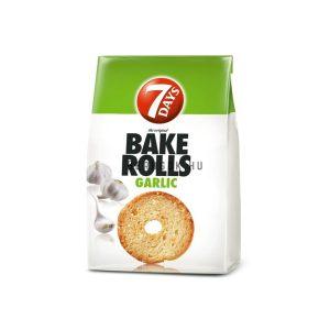7 days Bake Rolls Fokhagymás 80g