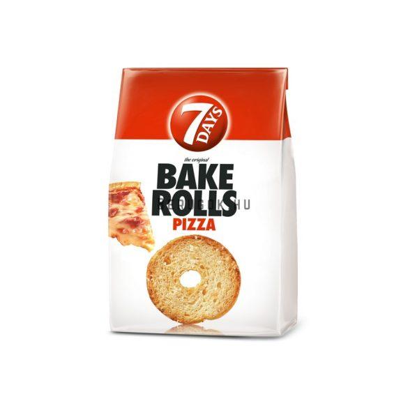 7 days Bake Rolls Pizzás 80g