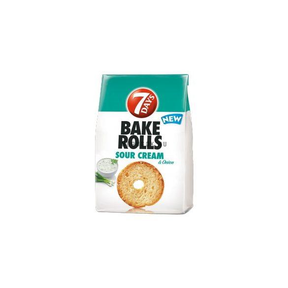 7 days Bake Rolls Hagymás-Tejfölös (80g)