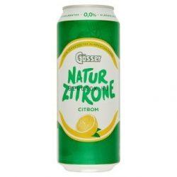 Gösser Natur Zitrone Citrom 0,5l DOB (0%)