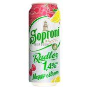 Soproni Radler Meggy-Citrom 0,5l DOB (1,4%)