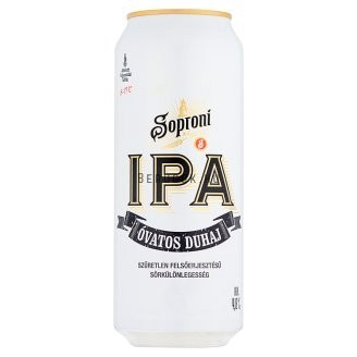 Soproni IPA Óvatos Duhaj 0,5l 4,8% DOB