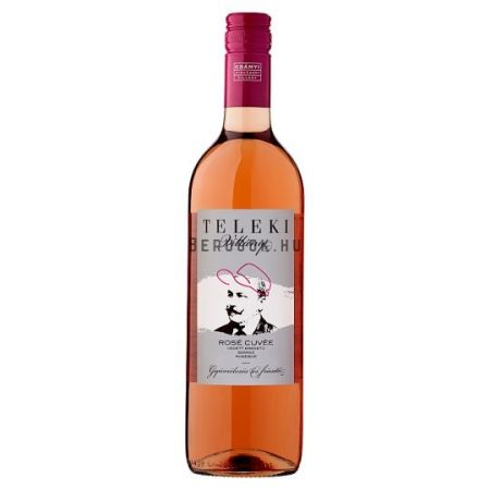 Teleki Villányi Rosé Cuvée 2016 0,75l (12,5%)