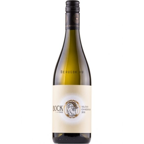 Bock Villányi Chardonnay 2019 0,75l (13%)
