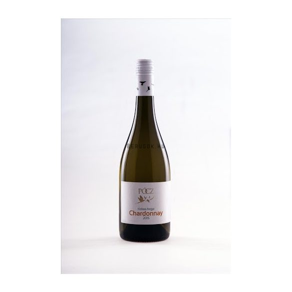 Pócz Chardonnay 2017  0,75l (13%)
