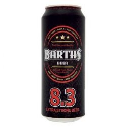 Barth's Extra Strong 0,5l DOB (8,3%)