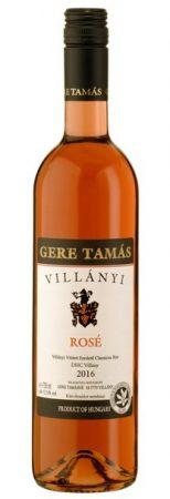 Gere Tamás Villányi Rosé 2016 0,75l (12,5%)