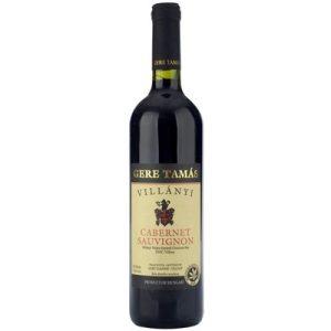 Gere T. Cabernet Sauvignon 2015 0,75l (13,5%)