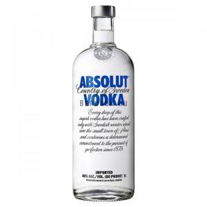 Absolut Blue Vodka 1l (40%)
