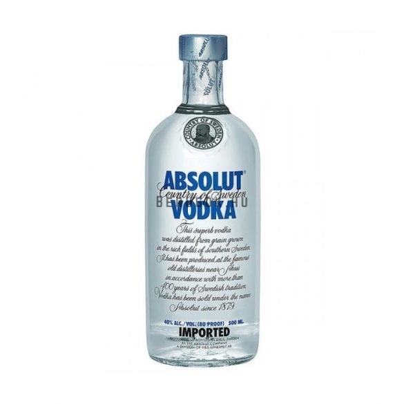 Absolut Blue Vodka 0,5l (40%)