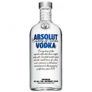Absolut Blue Vodka 0,7l (40%)