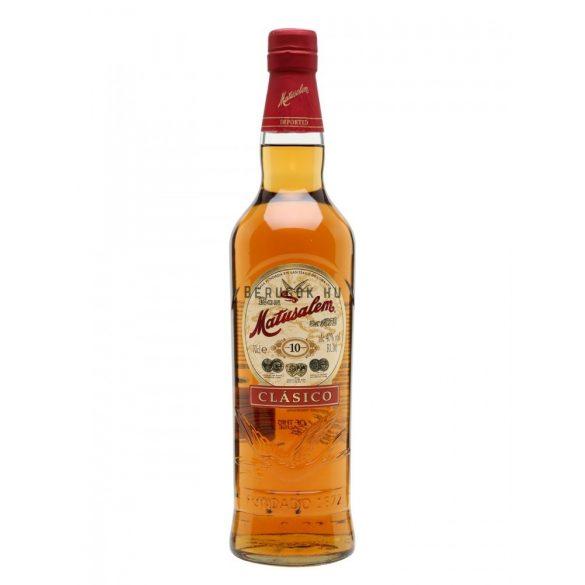 Matusalem Clásico 10 Years Rum 0,7l (40%)