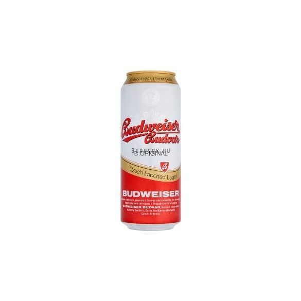 Budweiser Budvar Premium Lager 0,5l DOB (5%)