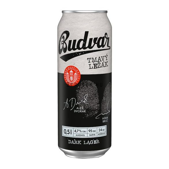 Budweiser Budvar Dark 0,5l DOB (5%)
