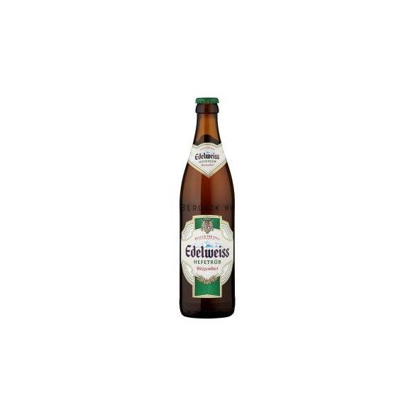 Edelweiss Unfiltered Búzasör 0,5l PAL (5,3%)