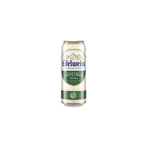 Edelweiss Unfiltered Búzasör 0,5l DOB (5,3%)